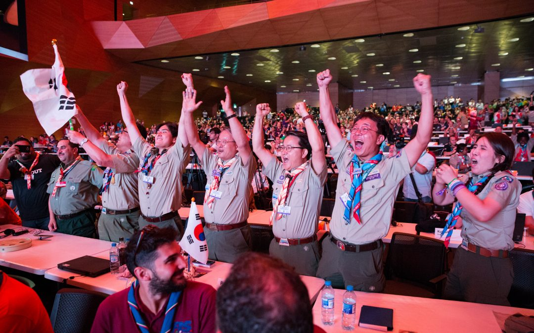 25th World Scout Jamboree Host Announced