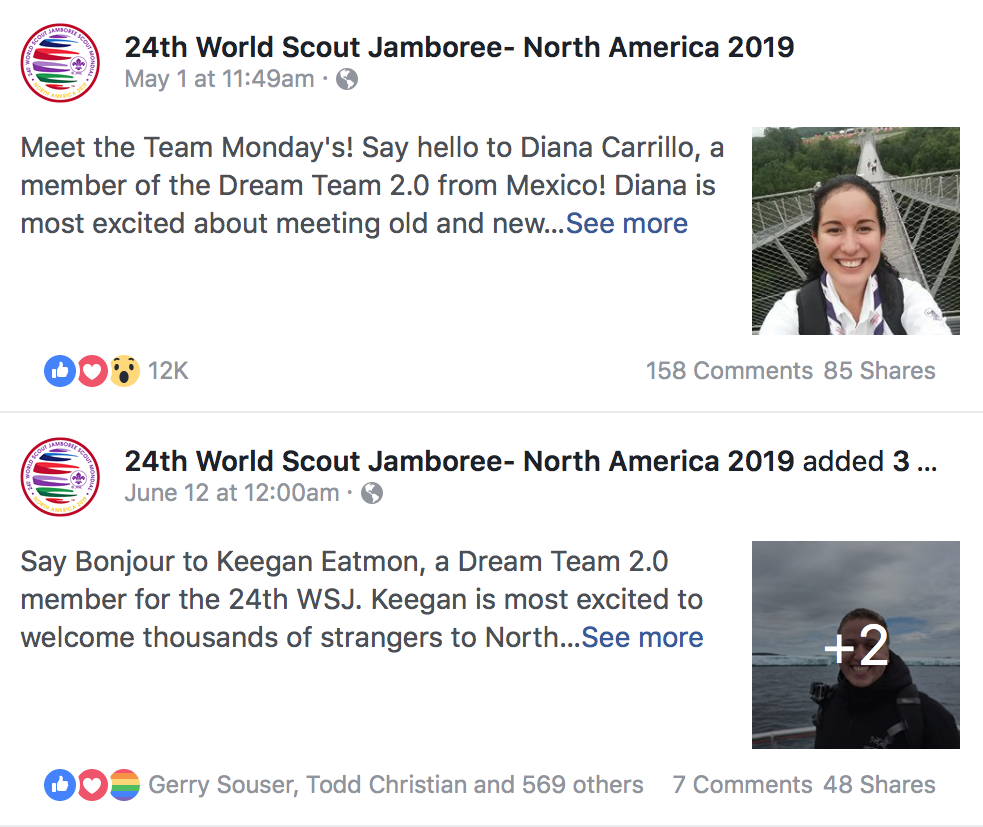 Meet the 24WSJ Host Team on their Facebook Page #MeetTheTeamMondays