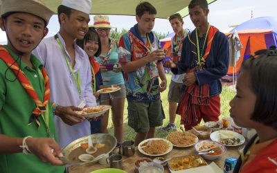 Cooking Preview – Food Distribution at the World Jamboree